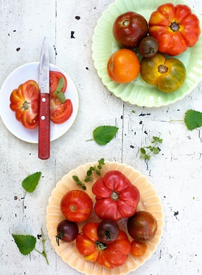 heirloom tomatoes...