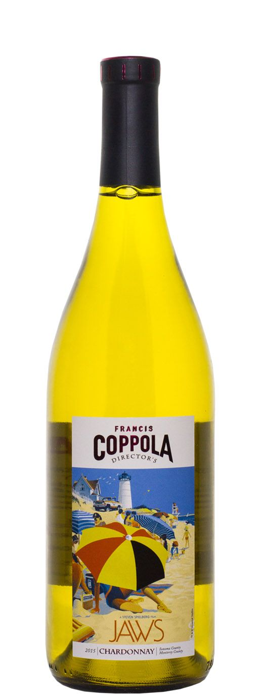 2015 Francis Coppola Chardonnay Directors Great Movies - Jaws - Buy Wine Online | B-21 Wine, Liquor & Beer