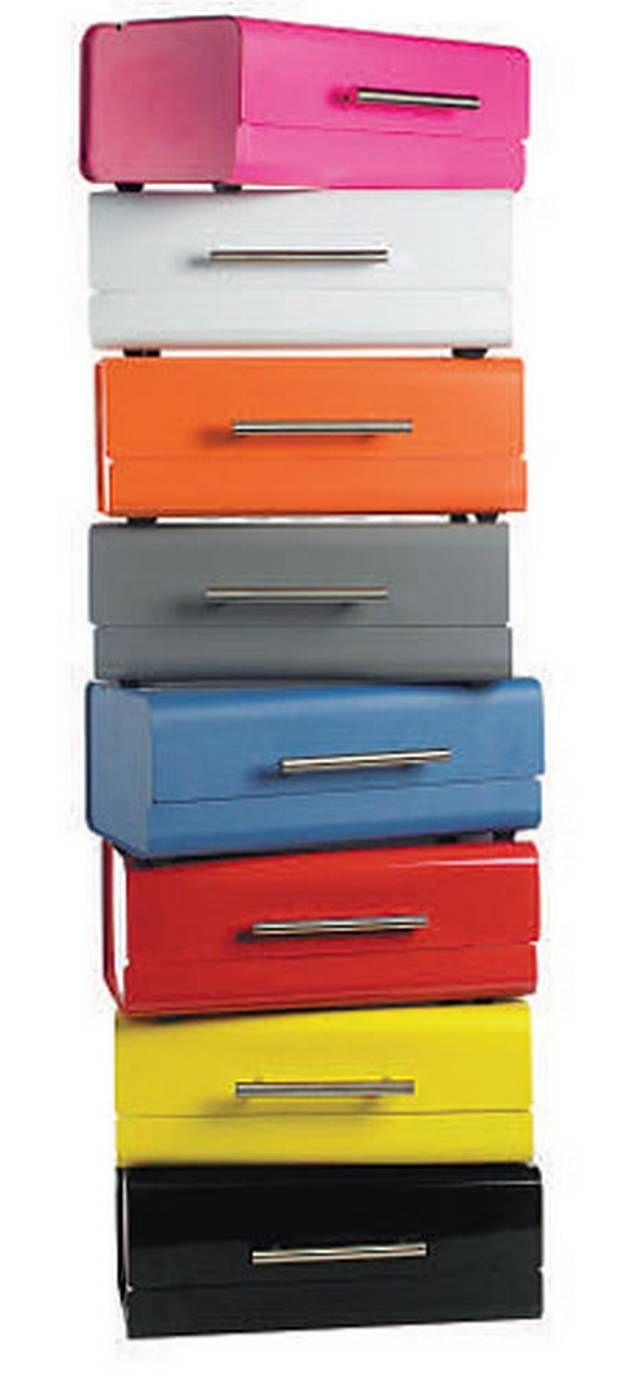 Tin bread box drawer insert - Danish Bread Bins