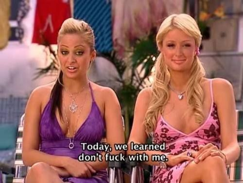 paris nicole 19 Ridiculous sh!t Paris Hilton and Nicole Richie said on The Simple Life (19 photos)