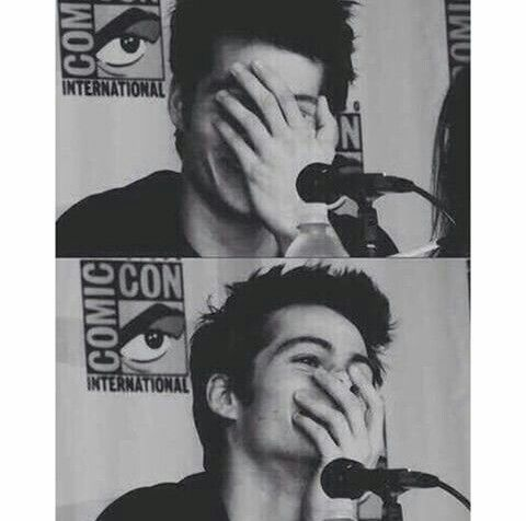 Your reaction when someone mention Dylan o'brien