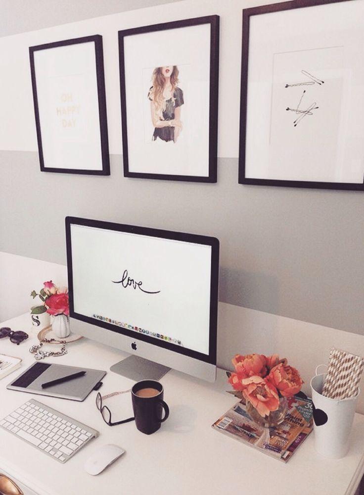 Decoração do escritório (Breakfast@Tiffany's)