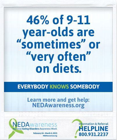 116 best 1 disordered eating and eating disorder resources images nedawareness spotlight everybody knows somebody with an eating disorder ccuart Choice Image