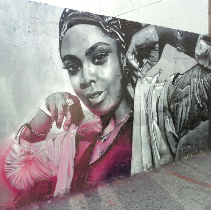 Graffiti en la 67 con 7a.