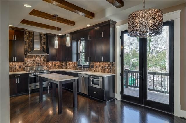 Nashville Dark Cabinets And Cabinets On Pinterest