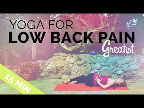 Yoga for Low Back Pain! Your 15-minute low back yoga fix. Appropriate for all levels. Flexibility is NOT required.