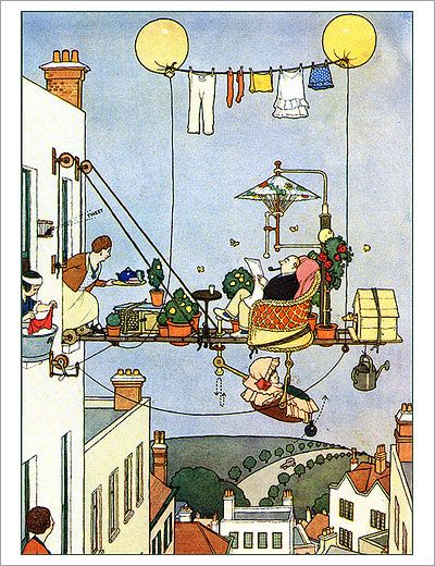 POUL WEBB ART BLOG: Heath Robinson