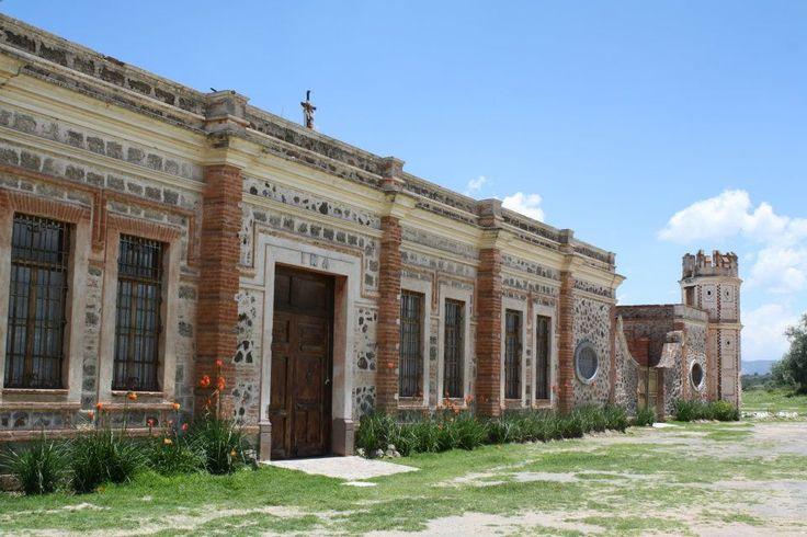 Ex Hacienda pulquera San Juan Pueblilla en Hidalgo Mexico