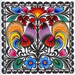 Polish folk design.