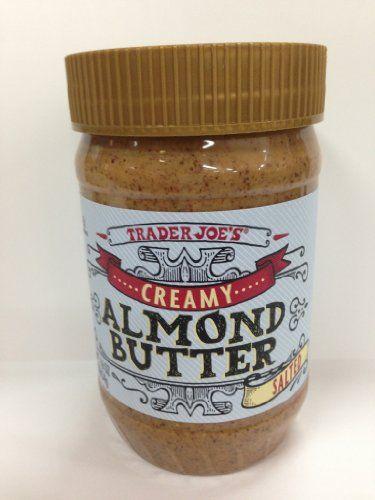 Trader Joe's Almond Butter Creamy With Sea Salt - http://goodvibeorganics.com/trader-joes-almond-butter-creamy-with-sea-salt/