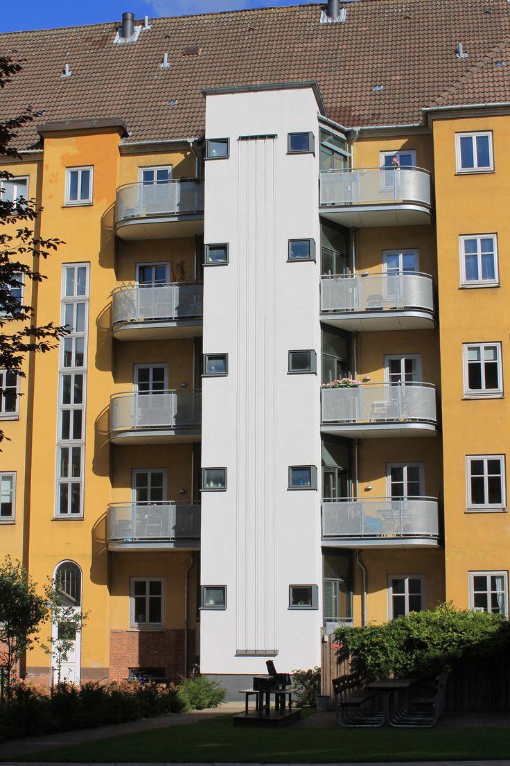 AAB afd. 11, Frederiksberg. Renovering og ombygning af Pålsson Arkitekter.