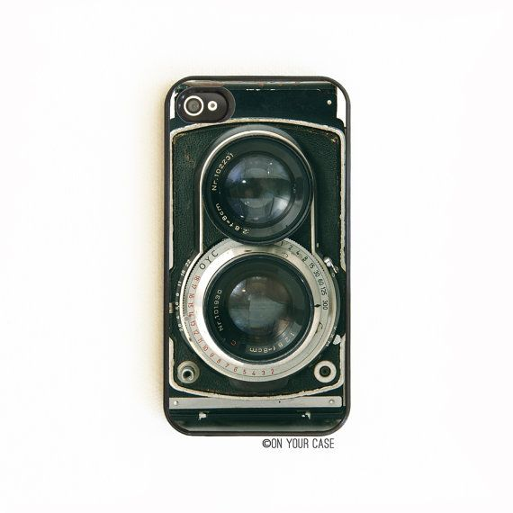 iPhone 4 Case. iPhone 4S Case. Retro Twin Reflex Camera. Phone Case. Phone Cases.  Protect your iPhone in style!    Check out the latest designs:
