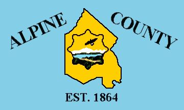 Flag of Alpine County, California
