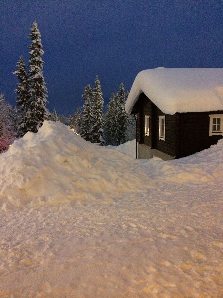 Snow at Lindvallen.