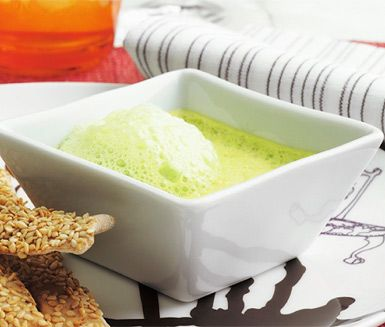 Recept: Grön ärtbrûlée