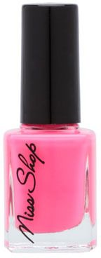 Miss Shop Cosmetics Nail Polish PLAY TIME PATRICK Bright Pink