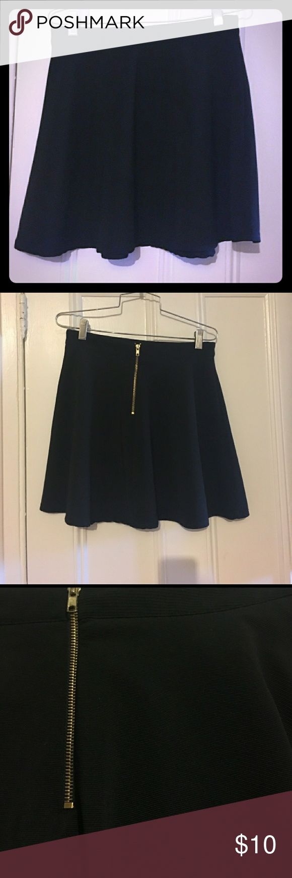 Little Black Skirt Romeo&Juliet Couture Reposh Reposhing this skirt as it's a true size S and slightly too loose for me. My loss is your gain!  The fabric is thick without being heavy. You can wear anything you want underneath and it won't show. Can be paired with tights and boots on a cold day at the office, or with a crop top and sandals for a sunny summer concert.  It's versatile and in mint condition. If you look up this brand at Nordstrom it retails for well over $100. I'm reselling for…