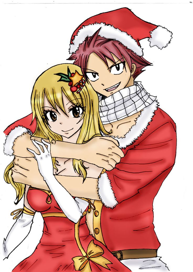 Nalu Christmas Fairy Tail Pinterest Merry Christmas