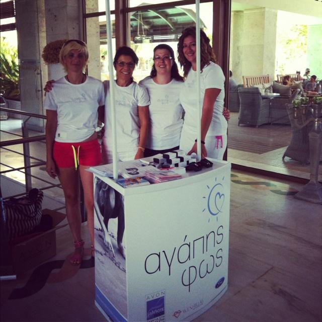 Light of Love campaign - Avon & W.I.N Hellas