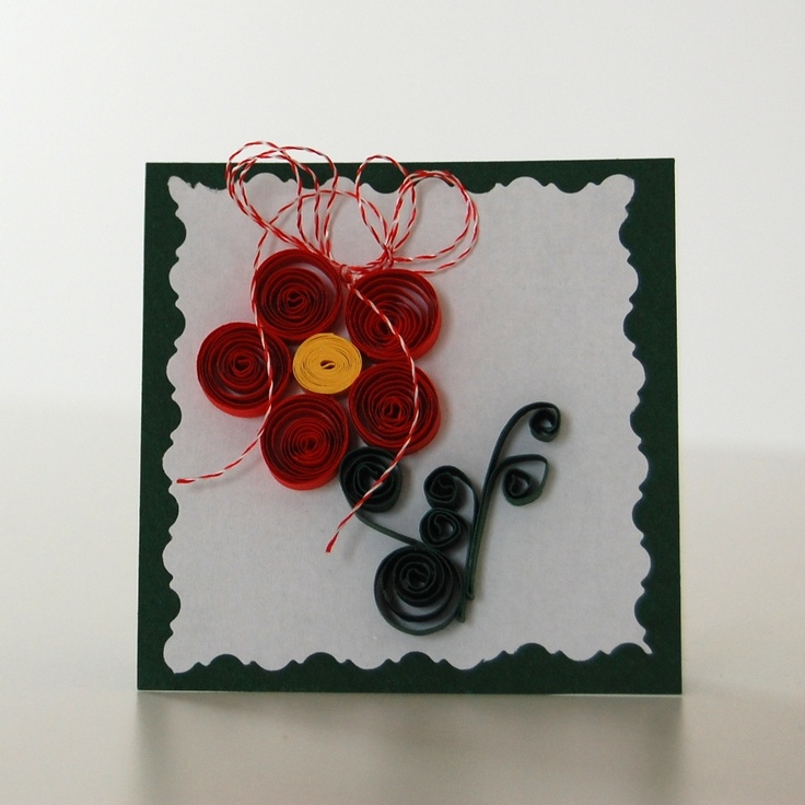 Quilling flower