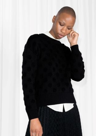 & Other Stories | Raised Dot Sweater
