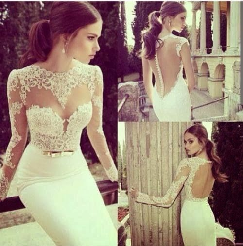 Massaya classic white dress