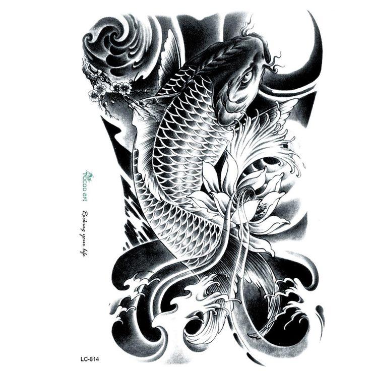 pez koi tattoo flash - Buscar con Google