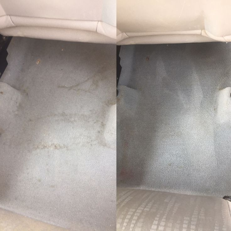 Car carpet cleaner   1 cup white vinegar 1 cup club soda  1/2 cup of dawn dish soap