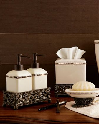GG Collection Two Soap/Lotion Dispensers traditional bath and spa accessories