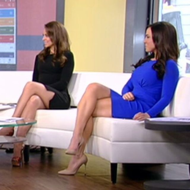 A selection of leggy photos from Andrea Tantaros... | Best Celebrity Legs in High Heels