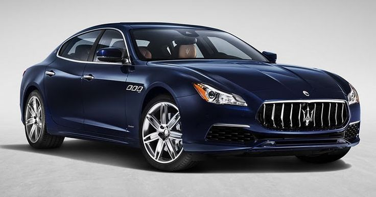 Maserati Quattroporte Gets A Minor Stylish Update #Maserati #Maserati_Quattroporte