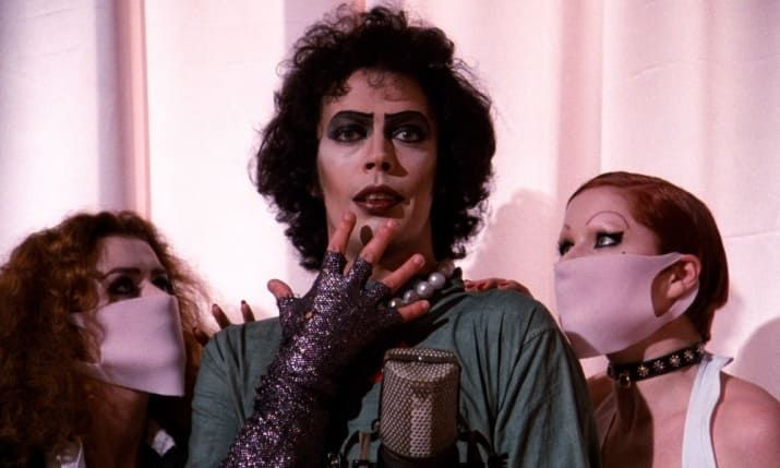 """What it's about: While traveling home, newly-engaged Brad (Barry Bostwick) and Janet (Susan Sarandon) stumble across the castle of Dr Frank-N-Furter (Tim Curry), a transvestite alien from the planet Transsexual in the galaxy of Transylvania. What follows next is a story of creation, love, hate, adventure, and most of all, sex.""""The Rocky Horror Picture Show, and in particular Tim Curry as Dr Frank-N-Furter, helped me set myself free. He taught me to stop dreaming, and to start living."""" –…"""