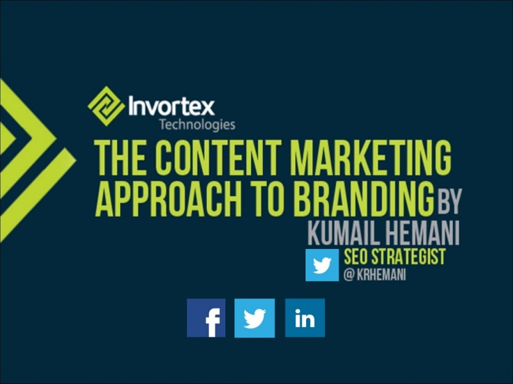 The Content Marketing Approach to Branding