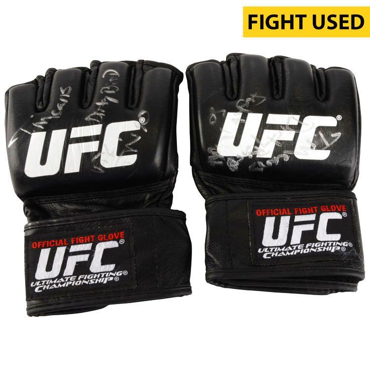 Tim Means Ultimate Fighting Championship Fanatics Authentic Autographed UFC Fight Night: Namajunas vs. VanZant Fight-Worn Gloves - Defeated John Howard via Second Round KO - $319.99