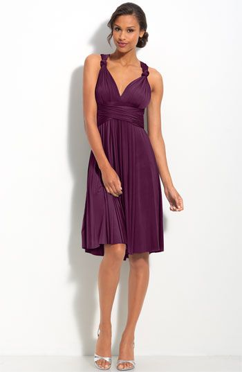 twobirds Convertible Jersey Dress available at #Nordstromweddings