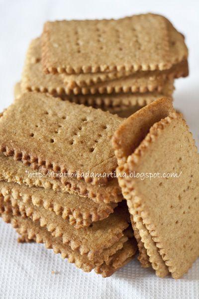I Graham crackers di Martha Stewart - Trattoria da Martina - cucina tradizionale, regionale ed etnica