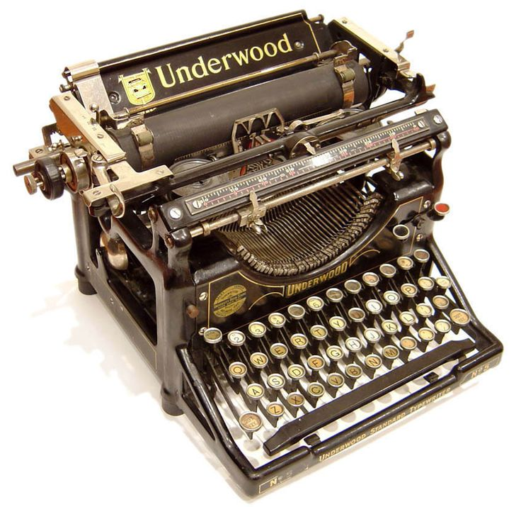 Underwood 5 - 1901 - by Underwood Typewriter Company, New York, USA - @~ Watsonette