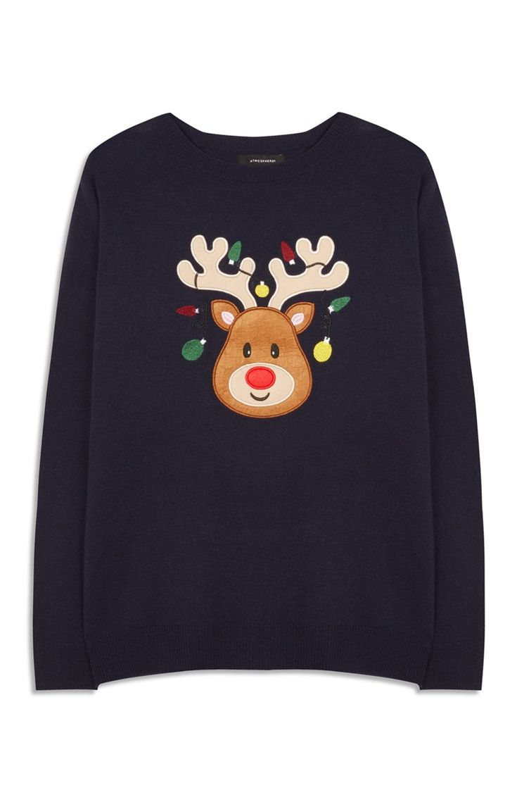 Primark - Novelty Christmas Reindeer Jumper