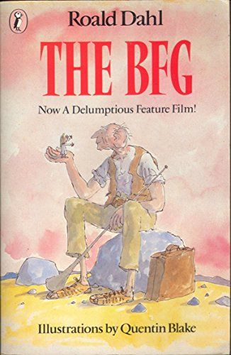 The BFG by Roald Dahl and Quentin Blake When Sophie hears that the giants are flush-bunking off to England to swollomp a few nice little chiddlers, she decides she must stop them once and for all. And the BFG is going to help her!