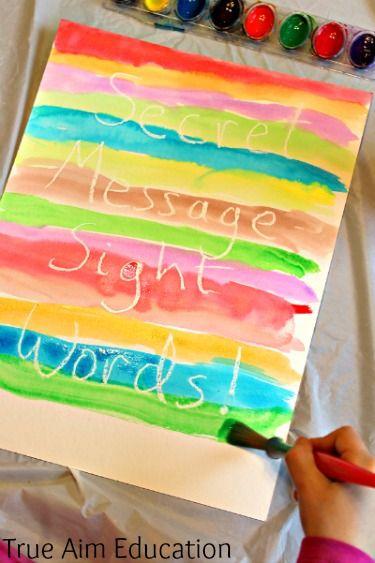Reading Activity: Secret Message Sight Words!