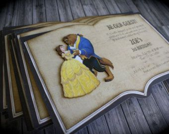 quinceanera decorations beauty and the beast and the