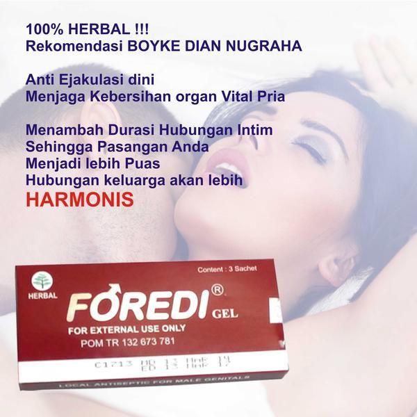 Foredi Gel, Produk antiseptik pria dewasa yang berfungsi untuk menjaga kebersihan dan kesehatan organ vital pria juga berfungsi untuk memperpanjang durasi hubungan intim suami istri.
