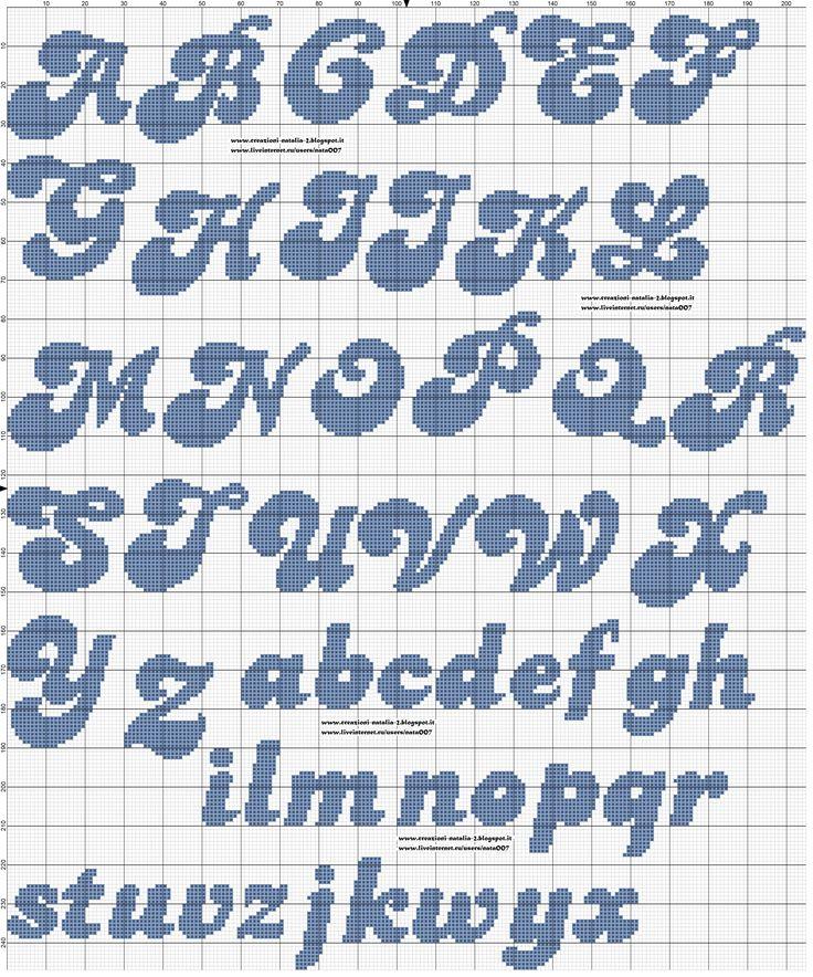 Oltre 25 fantastiche idee su lettere punto croce su pinterest for Alfabeto disney a punto croce