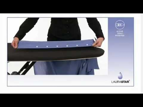 ▶ Iron your shirt in 2 minutes with LAURASTAR! - YouTube