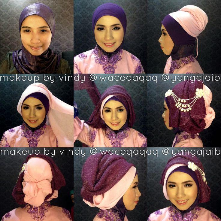 Ini Vindy Yang Ajaib: Step By Step aka Tutorial Hijab dan Make Up Wisuda