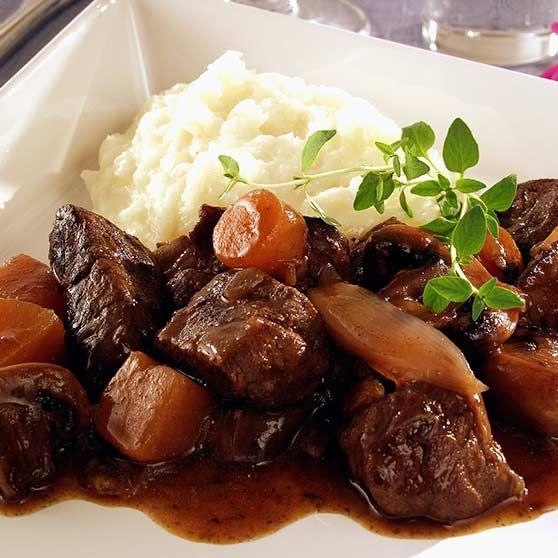 Rådjursgryta med hemlagat potatismos - Recept