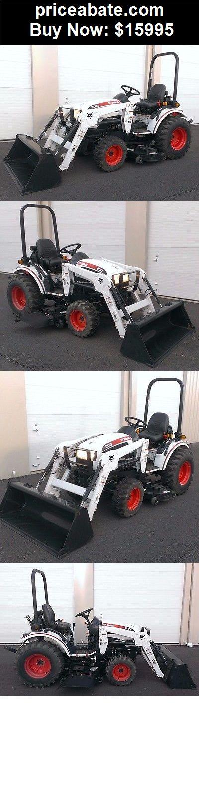 Heavy-Equipments: BOBCAT CT122 UTILITY FARM TRACTOR LOADER LAWN MOWER John Deere Kubota Kioti 2320 - BUY IT NOW ONLY $15995