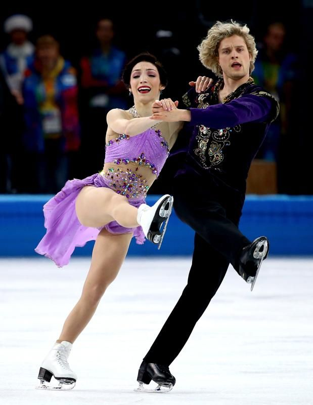 Ice Dancers Charlie White and Tanith Belbin Say I Do