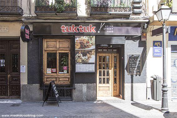 Tuk Tuk. Asian street food en Chamberí.