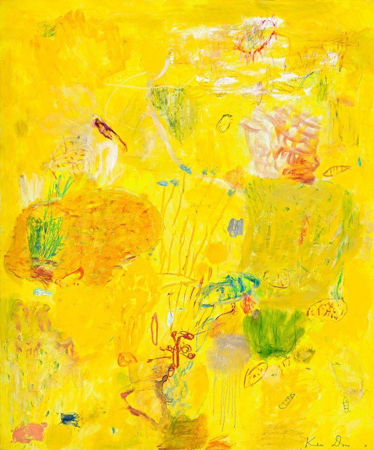 Ken Done - art / permanent collection / gallery / cadmium-sea-garden--2011